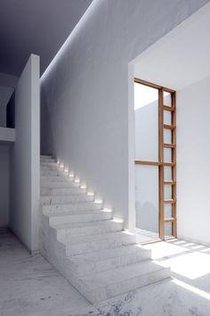 Interior detail from AR House, Mexico by Lucio Muniain et al