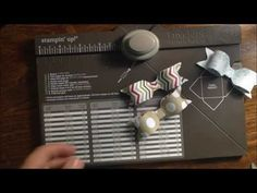 ▶ Stampin' Up! Envelope Punch Board Bows Simple Saturday Series - YouTube