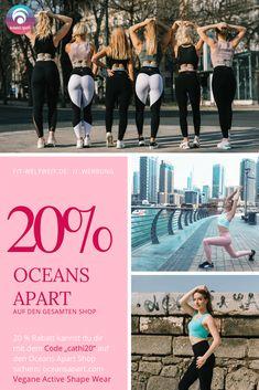 """Oceans Apart Code 2019 (Werbung): Im Shop bekommst du mit dem Gutscheincode """"cathi20"""" ganze 20% Rabatt auf jedes Produkt, auf alle Oceans Apart Sets mit dem Rabattcode """"cathiset"""" 30 % Rabatt und zu deiner Bestellung ab 80,00€ gibt es mit dem Rabattcode """"cathimoon"""" eine Moonlight Pants (der Oceans Apart Bestseller) im Wert von 89,00€ #gratis. Erfahrungsberichte und Info auf dem Blog. #vegan #Fitnesswear #nachhaltig"""
