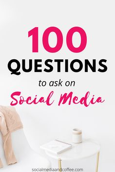 Would you like some more interaction on your social media page? Here are 100 conversation-starting questions to add to your content calendar. Social media marketing | online business | Facebook marketing | Instagram marketing | Twitter | small business marketing | blog | blogging | entrepreneur | marketing ideas | social media tips | business tips | engagement | #socialmedia #marketing #onlinebusiness #business #tips #Facebook #Instagram #Twitter #smallbusiness #entrepreneur #blog #Blogging