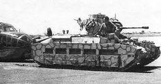 Matilda II on Malta 1941 ~ BFD