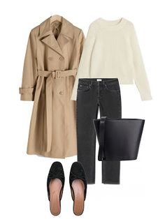 The Perfect Look (Jestem Kasia) Capsule Wardrobe, Capsule Outfits, Casual Chic, Fall Winter Outfits, Winter Fashion, Looks Style, My Style, How To Have Style, Elegantes Outfit