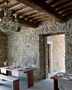 Medieval minimalism in the Carpini valley in Umbria, Italy.Secluded valleys, breathtaking vistas and a 12th century building lovingly restored with a minimalist bent.