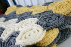Ravelry: Lets Twirl Baby Blanket & Rug pattern by Susan Carlson
