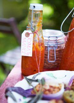 Rezept: Tomaten-Mango-Ketchup - [LIVING AT HOME]