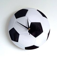 Football wall clock - Easy