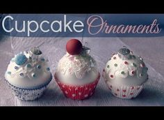 [Video] DIY Cupcake Ornaments Look Good Enough To Eat!