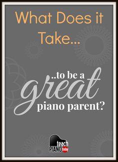 4 things every piano parent should read! | teachpianotoday.com #pianoteaching #pianostudio #pianolesson
