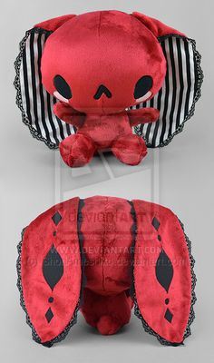 Steampunk Circus Bunny Plush by ShoriAmeshiko