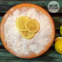 Low carb keto lemon cake