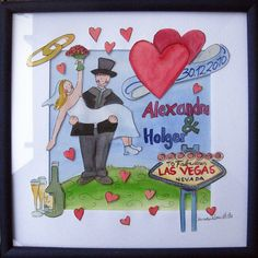 personality wedding present painted from maren schmidt