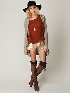 The whole look is so bohemian chic, I love it! I'd wear every piece out to the clubs for a girls night out!