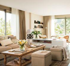 Un piso cómodo y muy práctico · ElMueble.com · Casas*