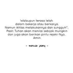 Manusia Jalang Quotes Poetry, Good Things, Math Equations, Quotes, Quotations, Poetry Books, Qoutes, Poems, Manager Quotes