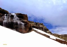 Chorreras Negras.Pepita Estevez Sierra Nevada, Mount Everest, Mountains, Artwork, Nature, Travel, Trekking, Waterfalls, Work Of Art