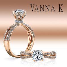 Blossom in Diamond Tulip Petals!  #VannaKjewelry #unique #spring #blossom #bloom #floral #diamond #inspiration #wedding #bridal #love #jewelry #luxury #VannaK #losangeles www.VannaK.com