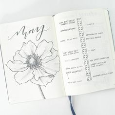 """2,601 Likes, 49 Comments - liz (@bonjournal_) on Instagram: """"I'm gearing up for another busy month! The dual monthly log lets me separate work and personal…"""""""