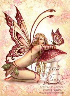 Selina Fenech fairy art