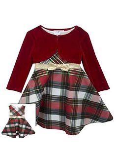 Rare Editions Little Girls Plaid Bow and Velvet Jacket Ho... http://www.amazon.com/dp/B010IFHGSU/ref=cm_sw_r_pi_dp_c4Yqxb01X1Z87