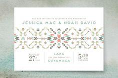 Santa Fe Dream Wedding Invitations by Design Lotus at minted.com