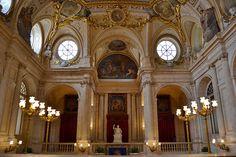 Escalera Principal Palacio Real Madrid, España
