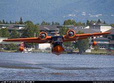 Grumman Seaplanes | Grumman G-21A Goose N789 B-102 Lake Hood Seaplane Base - PALH