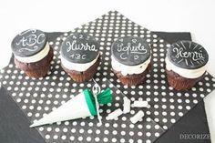 Tafel-Muffins für den 1. Schultag - so geht's