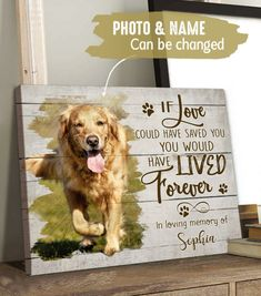 Old Dogs, Canvas Poster, In Loving Memory, Custom Photo, Canvas Material, 5 Years, Cotton Canvas, Solid Wood