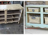 Diy Upcycled Birdbath Using Vintage Glware Furniture Makingfurniture Projectsdiy
