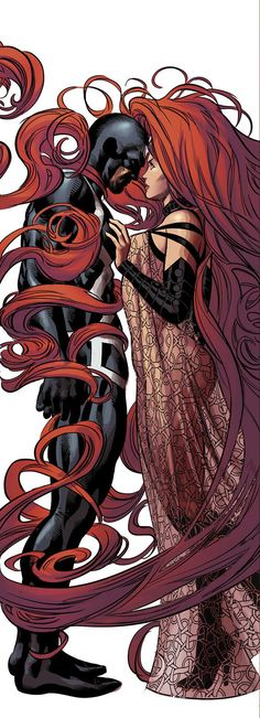 Inhumans are interesting to me- particullary Black Bolt and Medusa. They are the origin of super powers. He can't talk as a mere whisper is like a nuke going off so she speaks for him.