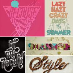 The art of typography in illustrator tutorials