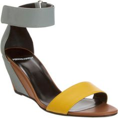 The smallest, yet chicest wedge...Pierre Hardy Ankle Cuff Wedge