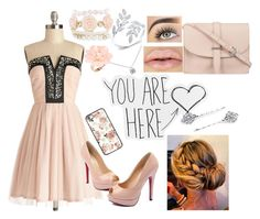 """""""You are here."""" by lemonade0007 ❤ liked on Polyvore featuring mode, M.N.G, Tiffany & Co., Dettagli en 1928"""