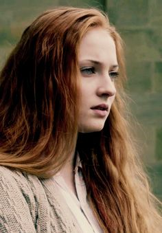 Sophie Turner. I don't know.. but I need to see Sansa with this look in the show.. just with her hair down and a bit messy