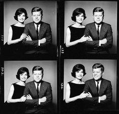 Jackie Kennedy Photo: Jackie and John