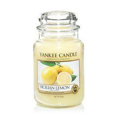 Sicilian Lemon: Yankee Candle Large Jar