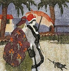 Ethel Mars (American artist, 1876–1956) Nice, France