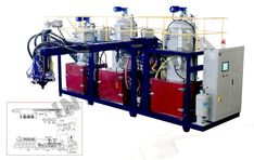 TPU Ration Blending Machine