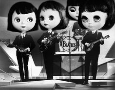 Blythe A Day ~ July 2014 ~ Day 20: Favorite BEATLES Song | Flickr - Photo Sharing!