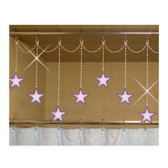 Stars...Bling Charm Ornaments...Set of 12 by ShowerCurtainBling, $21.95