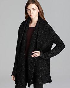 Vince Sweater Coat - Tweed | Bloomingdale's