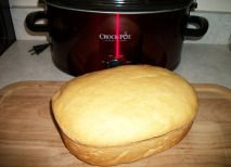 Crock Pot Bread.. Save on heating up your oven during the summer months. I had no idea you could do this.