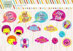 Props Soy Luna - Photobooth - Fiestas Infantiles - - $ 250,00 en Mercado Libre