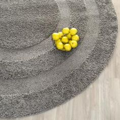 @Overstock - This power-loomed shag rug offers luxurious comfort and unique styling with a raised high-low pile. High-density polypropylene pile features a dark grey backgroundhttp://www.overstock.com/Home-Garden/Ultimate-Dark-Grey-Shag-Rug-4-Round/6673456/product.html?CID=214117 $57.59