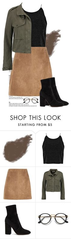 """fall"" by nicoletsunis on Polyvore featuring Bobbi Brown Cosmetics, River Island, rag & bone and Valentino"