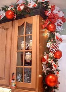 Kitchen Christmas Garland