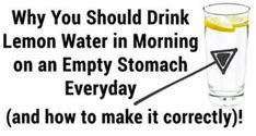 Many experts claim that drinking lemon water in the morning on an empty stomach is very beneficial for your health. Namely the water maintains your body hydrated and it also helps you to eliminate all the harmful toxins out of your body. Therefore you can easily conclude that water is extremely good for your overall ...More →