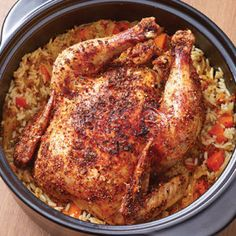 create a one pot chicken dinner in your rockcrok dutch oven in the microwave