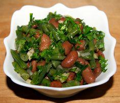Постный салат из болгарского перца