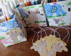 Arte na Caixa: Casamento da Juliana - Porta Lápis para Daminhas e Pajens